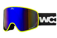 Маска гірськолижна Woosh W95-1 Lime, КОД: 1555047