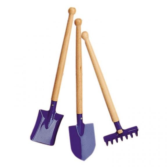 Набір садових інструментів NIC Синій (NIC535396)