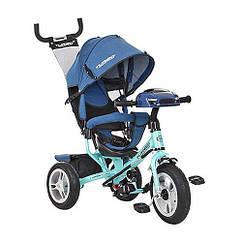 Велосипед детский Turbo Trike M 3115HAJ-15 12 10 Джинс-Бирюзовый intM 3115HAJ-15, КОД: 961414