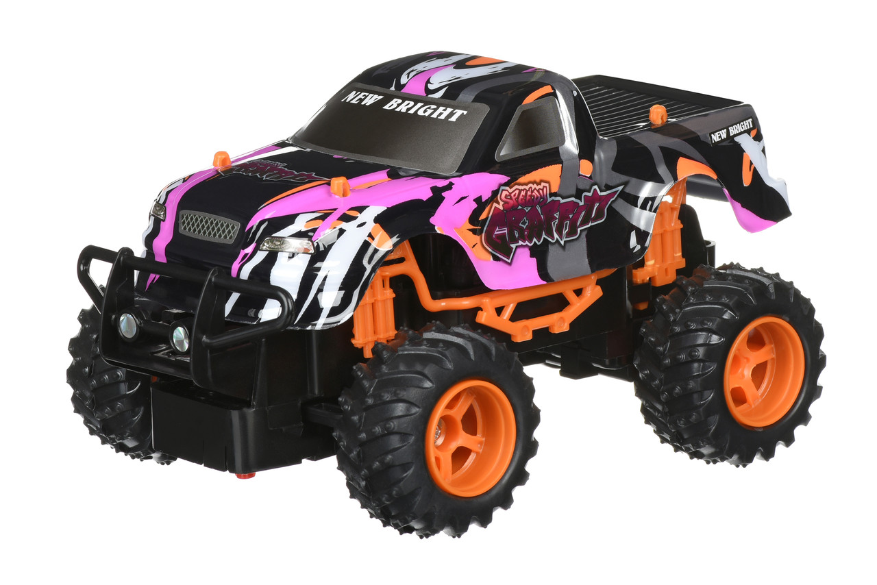 Машинка на р / у New Bright 1:24 GRAFFITI TRUCK Фиолетовый (2408F)