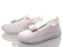 Слипоны Xifa 33 Белый KV103-6 white 33 18.5 см, КОД: 1392592