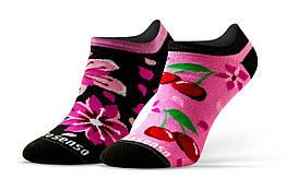 Женские носки Sesto Senso Cherries 38-40 Розово-черные sns0092, КОД: 1335394