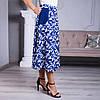 Женская юбка Линда софт 22 синяя, фото 4