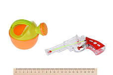 Набір для гри з піском Same Toy 6 шт. Відерце Рожеве (882Ut-2), фото 3