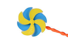 Набір для гри з піском Same Toy 8 шт. з Повітряною вертушкою та відерцем (HY-1207WUt-3), фото 2