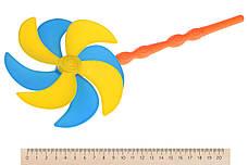 Набор для игры с песком Same Toy 9 шт. с Воздушной вертушкой и ведерком (HY-1206WUt-2), фото 3