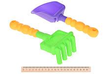 Набор для игры с песком Same Toy 8 шт. с Воздушной вертушкой и ведерком (HY-1207WUt-1), фото 3