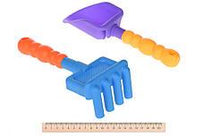 Набір для гри з піском Same Toy 8 шт. з Повітряної вертушкою та відерцем (HY-1207WUt-2), фото 3