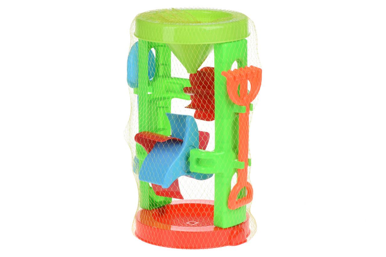 Игрушка для песочницы Same Toy Мельница Красно-голубой (B023Ut-2)