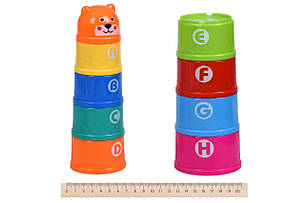 Набор для игры с песком Same Toy 9 шт. Чашки (616Ut), фото 2