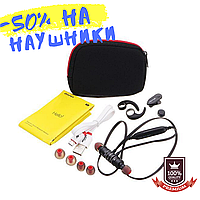 Спортивные беспроводные Bluetooth наушники Awei AK4 Black