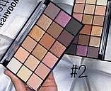 Палитра теней для век DoDo Girl, 18 цветов, фото 2