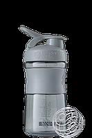 Спортивная бутылка-шейкер BlenderBottle SportMixer 590 ml Grey, КОД: 977629