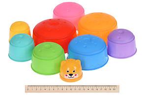 Набор для игры с песком Same Toy 9 шт. Чашки (617-17Ut), фото 2
