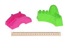Набор для игры с песком Same Toy 8 шт.фиолетове Ведерко (HY-1204WUt-2), фото 2