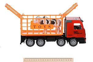 Машинка инерционная Same Toy Super Combination Грузовик с прицепом Красный (98-91Ut-1), фото 2