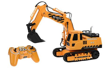 Машинка на р/к Same Toy Екскаватор 1:20 (E511-003), фото 2