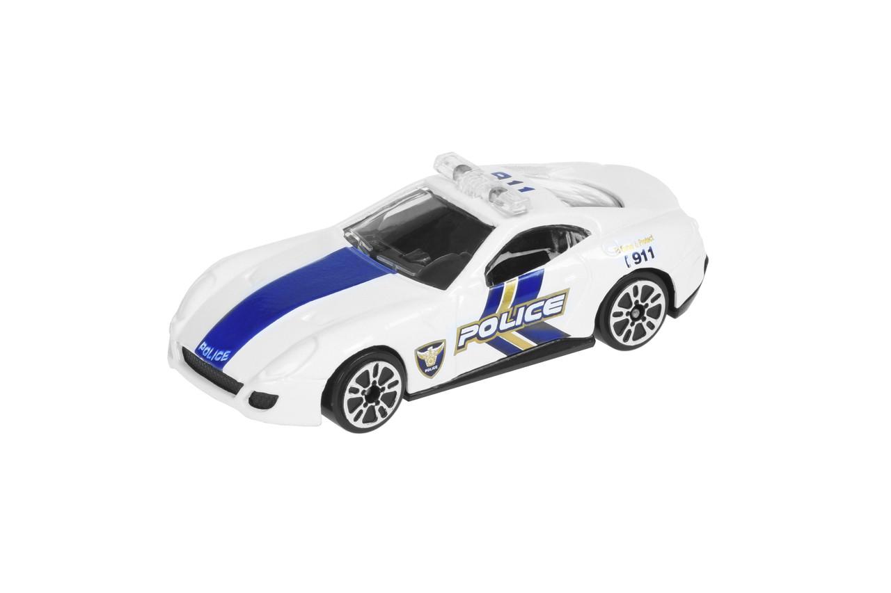 Машинка Same Toy Model Car Полиция Белый (SQ80992-But-1)
