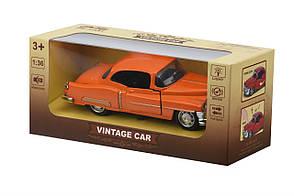 Машинка Same Toy 1:36 Vintage Car Оранжевый (601-4Ut-2), фото 3