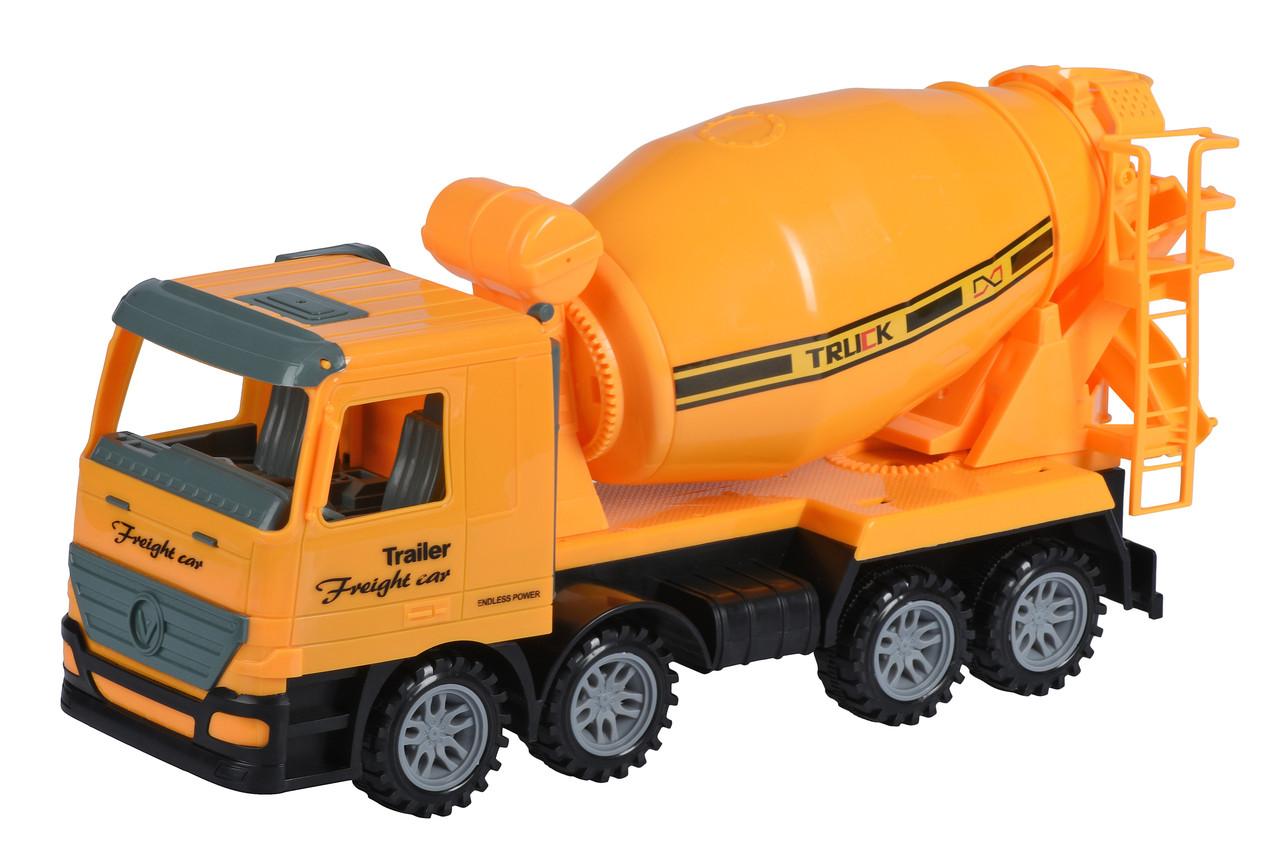 Машинка інерційна Same Toy Super Combination Бетонозмішувач Жовтий (98-85Ut-2)