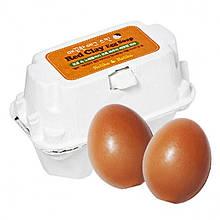 Мыло-маска для лица с красной глиной Holika Holika Red Clay Egg Soap 50 г + 50 г 8806334338121, КОД: 1725916