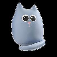 Мягкая игрушка антистресс Кот большой Дымок Expetro A170, КОД: 1716393