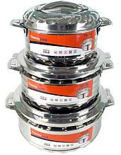 Набор 3 термо-кастрюли TOiTO HotCold 2.5 л 3.5 л и 5 л psgTT-TER-SET2, КОД: 1478338