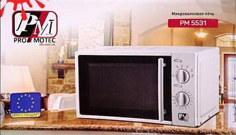 Микроволновая печь Promotec PM 5531 (1200 Вт / 20 л) СВЧ-печь Микроволновка Белая