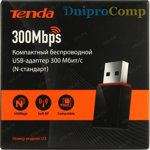 Мережева карта Wi-Fi TENDA U3