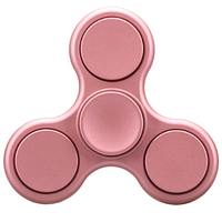 Спиннер матовый игрушка Hand spinner вертушка Pink hubXWDK20786, КОД: 1394157