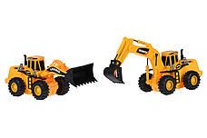 Набір машинок Same Toy Truck Series Кар'єрна техніка (R1804Ut), фото 3