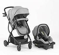 Детская универсальная коляска-трансформер 3-в-1 Evenflo Urbini Grey C208U03+CS31-UMLG, КОД: 1815336