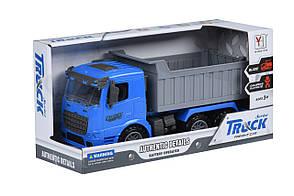 Машинка инерционная Same Toy Truck Самосвал Синий (98-611Ut-2), фото 2