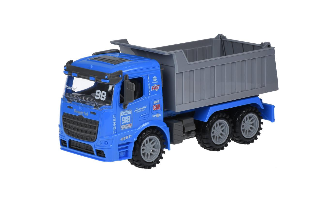Машинка инерционная Same Toy Truck Самосвал Синий (98-614Ut-2)
