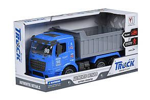Машинка инерционная Same Toy Truck Самосвал Синий (98-614Ut-2), фото 2