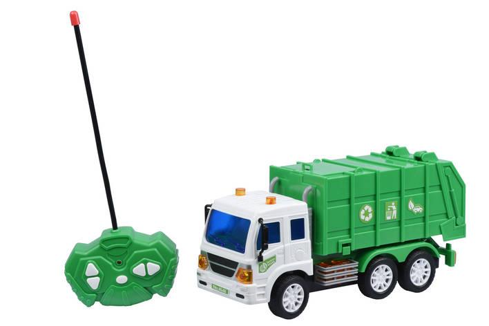 Машинка на р/к Same Toy CITY Сміттєвоз (F1641Ut), фото 2