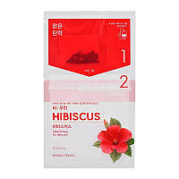 Чайная маска для лица Гибискус Holika Holika Tea Bag Mask Hibiscus 27 мл 8806334380502, КОД: 1725924