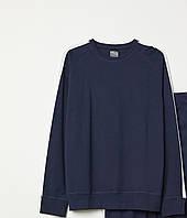 Свитшот пижамный HM 65579293 L Темно-синий 2000000890593, КОД: 1667267