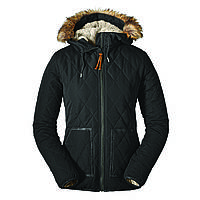 Куртка Eddie Bauer Womens Snowfurry Jacket Black S Черный 0311BK-S, КОД: 723917