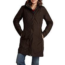 Пальто Eddie Bauer Womens Girl On The Go Insulated Trench Coat COCOA S Коричневый 7347CC-S, КОД: 1212922