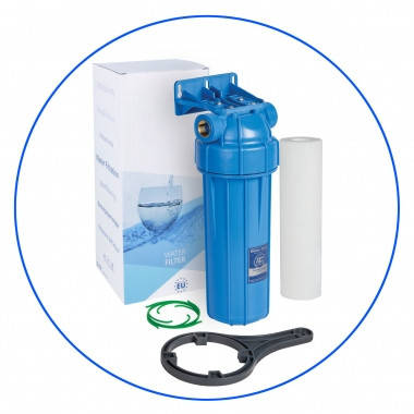 """Корпус фильтра для холодной воды 10"""", рабочее давление 6 бар Aquafilter FHPRN1-B1-AQ, фото 2"""
