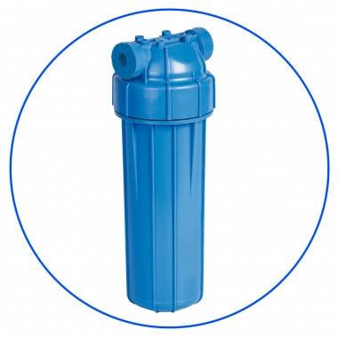 """Корпус фильтра для холодной воды 10"""", резьба 3/4, рабочее давление 6 бар Aquafilter FHPLN34-D, фото 2"""