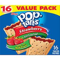 Pop Tarts Strawberry Упаковка 16s 830 g