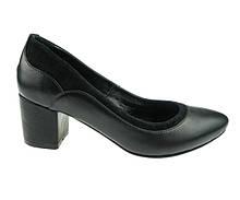 Женские туфли Lioneli 36 Черные  LQ1616-01 36, КОД: 1786901