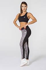 Женский спортивный костюм для фитнеса Radical Caress L Черно-серый r0180, КОД: 740782