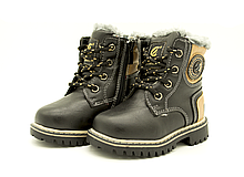 Ботинки Сlibee 24 15.7 см Черный H96A, КОД: 1392540