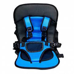 Бескаркасное автокресло Multi Function Car Cushion для детей Голубой HbP050335, КОД: 1207588