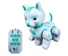 Животное FENGQI TOYS 9872-3 Кошка Бело-зеленый, КОД: 1331896