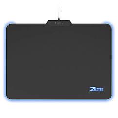 Коврик для мыши ZELOTES P-17 с подсветкой светодиодный игровой для ноутбуков ПК 3208-9253, КОД: 1391436