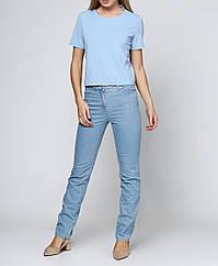 Женские джинсы Tony 36 Голубой 2900054631015, КОД: 1001086